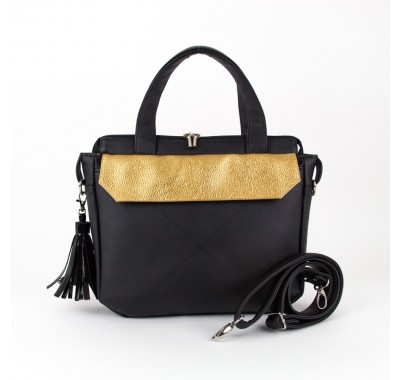 Vegan leather handbag for women | URBANA