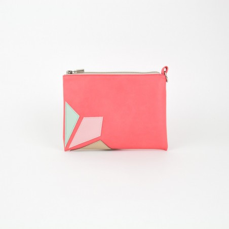 Vegan Leather Clutch Bag | Blossom