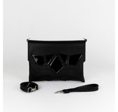Envelope Vegan Leather Crossbody Bag | Rabbit Foot